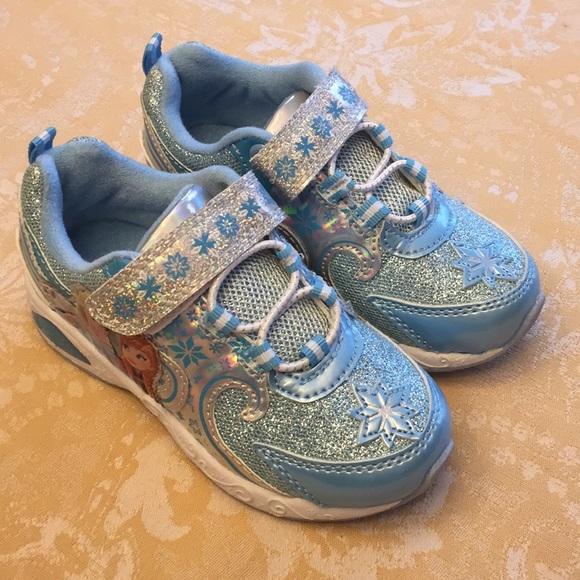 3c7238b2ba4c Disney Other - Disney Frozen Elsa Girls Light Up Sneakers Size 9